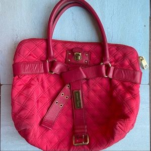 Marc Jacobs Bruna tote quilted red purse